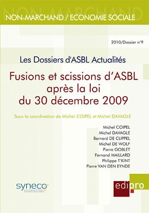 Fusions et scissions d'ASBL