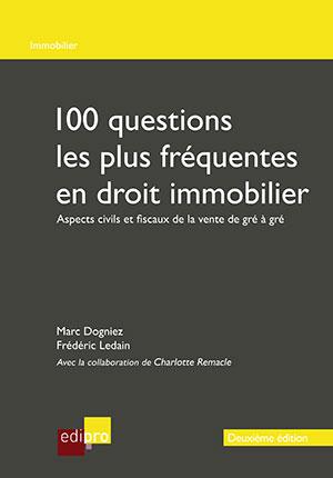 100 questions les plus fréquentes en droit immobilier