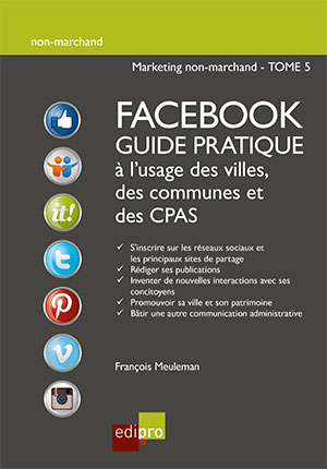 Facebook guide prat. à l'usage des villes, des communes et des CPAS