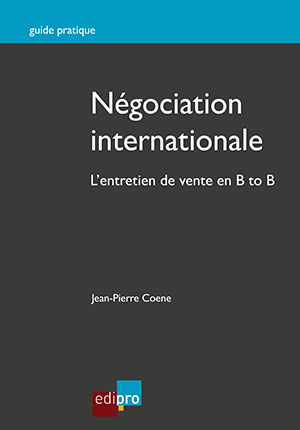 Négociation internationale, L'entretien de vente en B to B