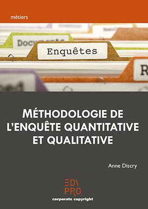 Méthodologie de l'enquête qualitative et quantitative