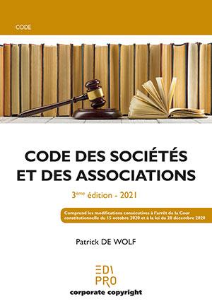 Code des sociétés et associations (3ème édition - ref. 528)