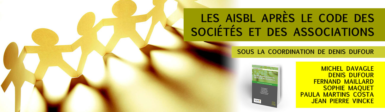 Les AISBL après le CSA - Dossier 23 (2021)