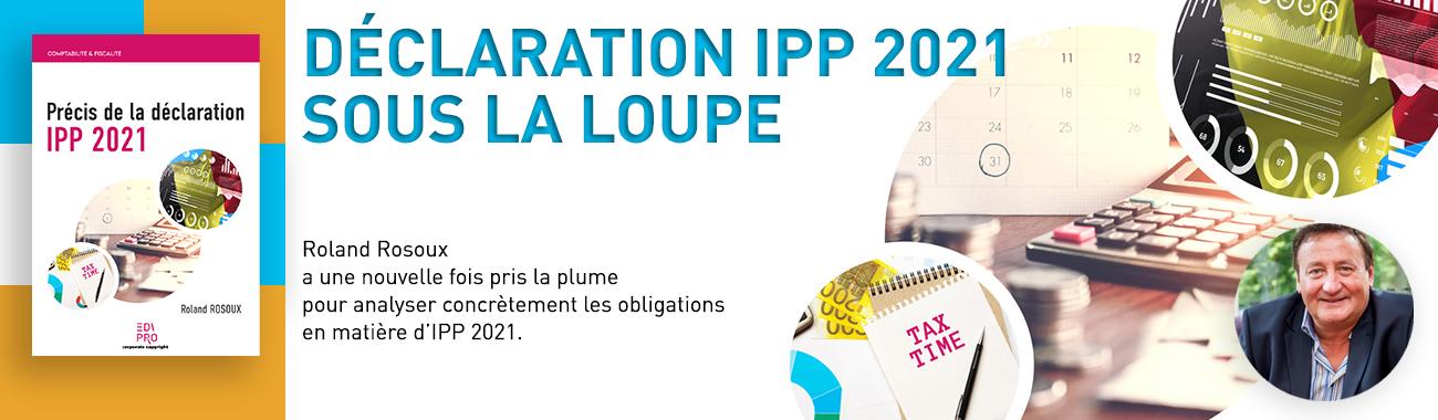 Précis de la déclaration IPP 2021